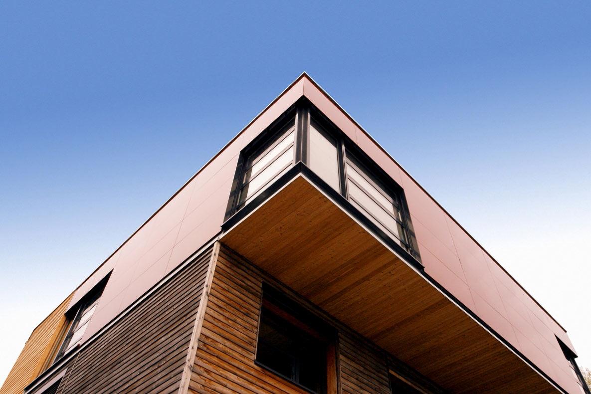 Architekturfotografie haus spitze altenberge