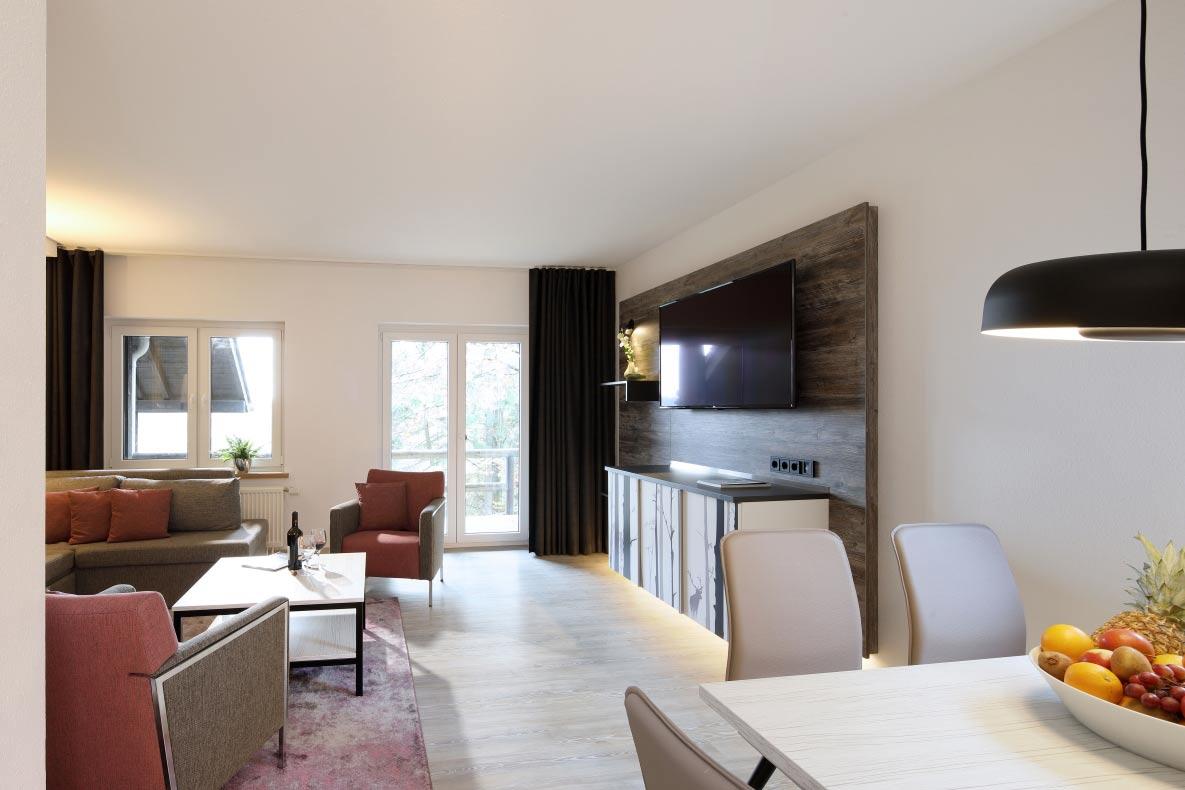 Hotelfotografie zimmer sofa altenberge